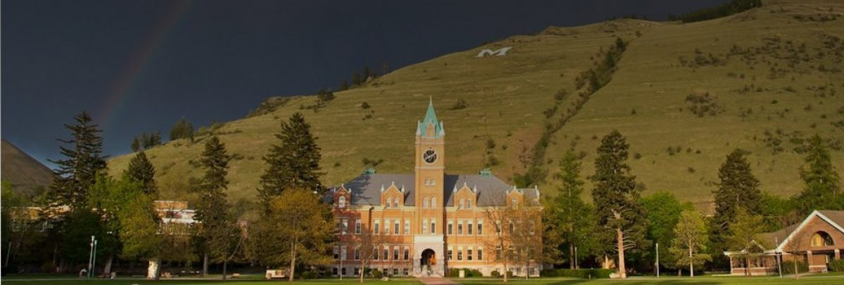University of Montana campus view